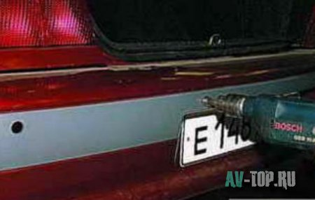 Парктроник на Ваз 2115