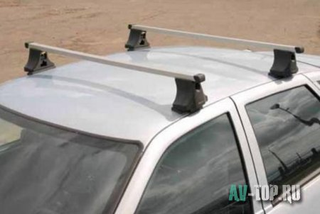 Багажник на крышу ВАЗ 2110, установка багажника ВАЗ 2110