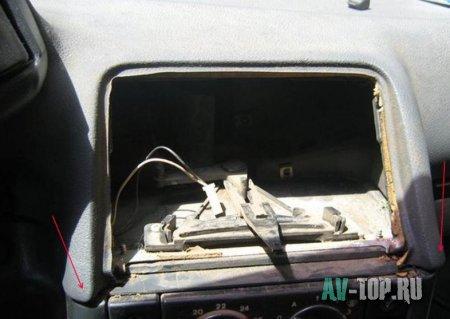 Ремонт панели ВАЗ 2110