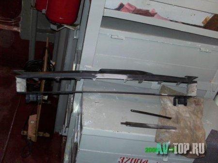 Решетка радиатора на Лада Калина своими руками