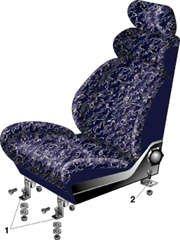 Тюнинг сидений ВАЗ 2106