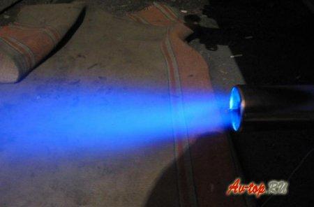Насадка на глушитель с подсветкой ВАЗ 2112