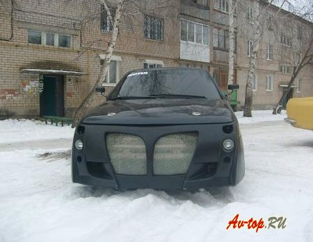 Тюнингованные обвесы ВАЗ 2112 + фото