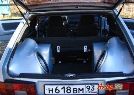 Сабвуфер на ВАЗ 2108: качество звука и быстрая установка