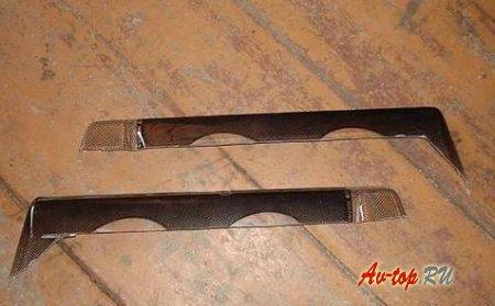 Реснички на фары Ваз 21099: изготовление и установка