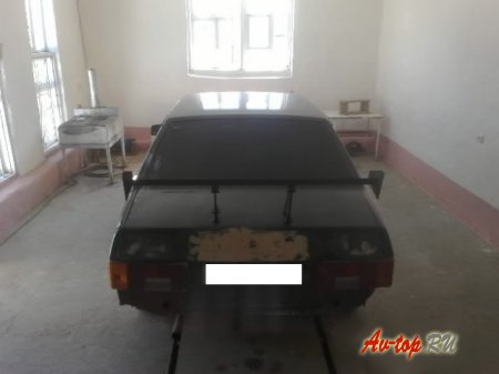Установка спойлера на ВАЗ 21099, улучшение внешнего вида автомобиля
