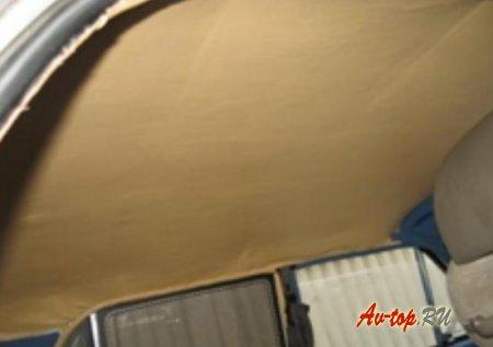 Потолок Ваз 2101 перетяжка и установка