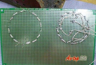 Передняя и задняя светодиодная оптика на Ваз 2101