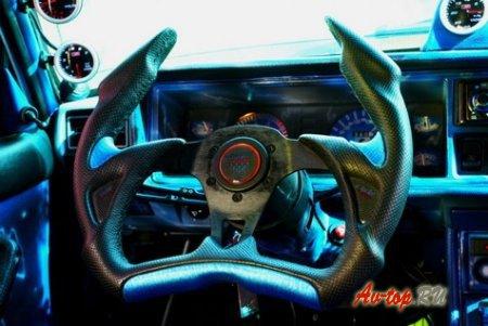 Спортивный руль на Ваз 2107, выбор и установка