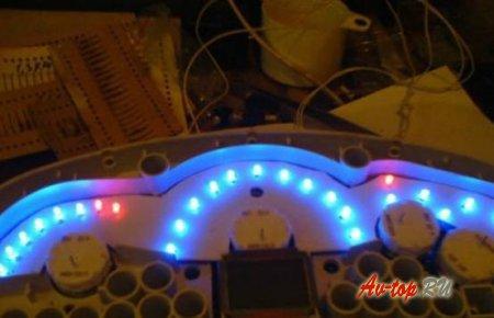 Подсветка панели приборов ВАЗ 2115, поэтапная инструкция