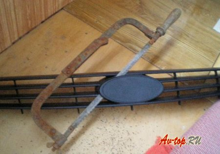 Решетка радиатора Лада Приора своими руками