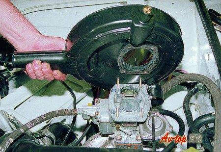Чистка карбюратора ВАЗ 2105